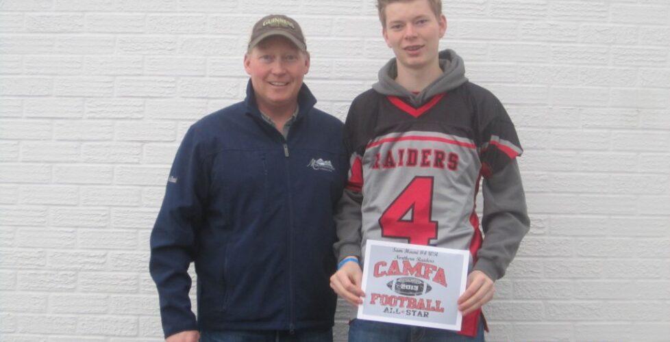 football Sam all star Airdrie Raiders 010